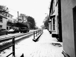 Snow in Honiton March 2018
